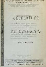 Cover of: Celebrities in El Dorado