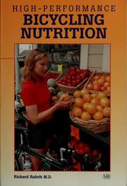 Cover of: High-performance bicycling nutrition