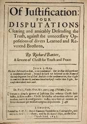 Cover of: Of justification