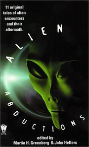 Cover of: Alien abductions