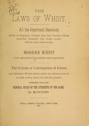 The laws of whist