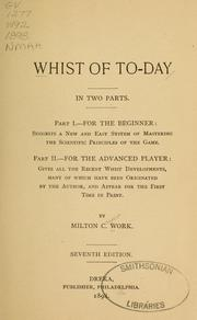 Cover of: Whist of to-day