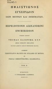 Cover of: Enchiridion