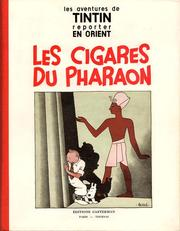 Les cigares du pharaon by Hergé