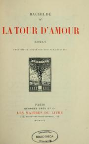 Cover of: La tour d'amour