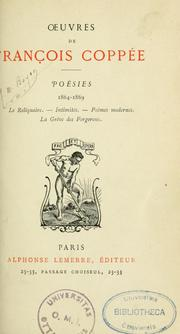 Cover of: Poésies [1864-1905]