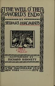 Cover of: The well o' the world's end