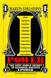 Cover of: I power | Martin Edelston