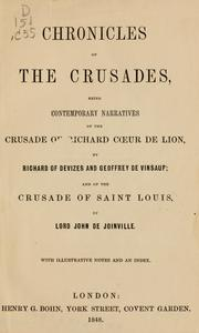 Cover of: Chronicles of the crusades