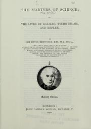 Cover of: The martyrs of science