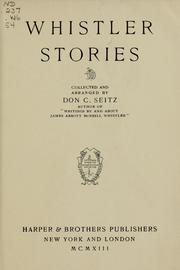 Cover of: Whistler stories