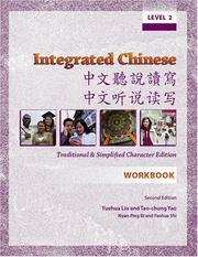 Cover of: Integrated Chinese: Level 2 Workbook | Liu, Yuehua.