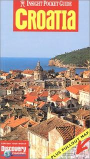 Cover of: Insight Pocket Guide with map Croatia (Insight Guides) | Jane Foster