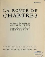 Cover of: La route de Chartre