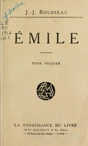 Cover of: Emile