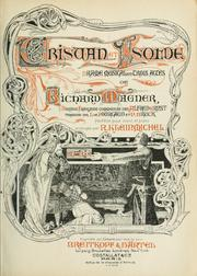 Cover of: Tristan et Isolde