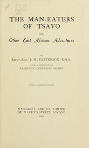 Cover of: The man-eaters of Tsavo