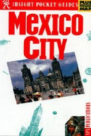Cover of: Insight Pocket Guide Mexico City | Margaret King