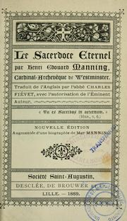 Cover of: Le sacerdoce eternal