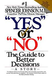 Cover of: Yes or No