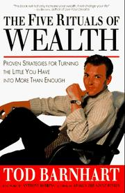 Cover of: 5 Rituals of Wealth | Tod Barnhart