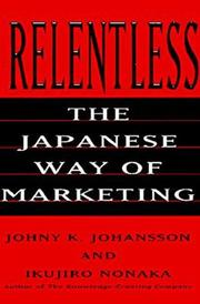 Cover of: Relentless | Johny K. Johansson
