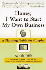 Honey, I Want to Start My Own Business