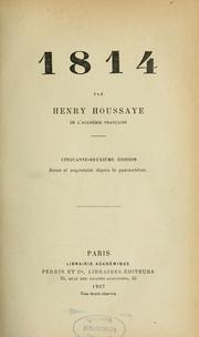 Cover of: 1814