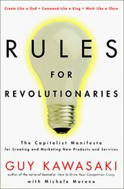 Cover of: Rules for revolutionaries