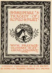 Cover of: The Temple Shakespeare / [with preface, glossary & etc. by Israel Gollancz] |