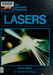 Cover of: Lasers | Robin McKie