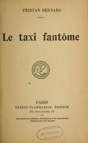 Cover of: Le taxi fantôme