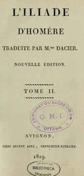 Cover of: L'Iliade