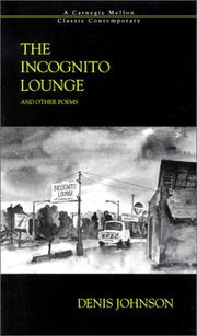 Cover of: The Incognito Lounge