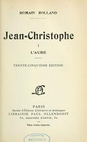 Cover of: Jean-Christophe
