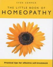 Cover of: Little Book of Homeopathy | Sven Sommer