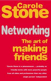 Cover of: Networking | Carole Stone