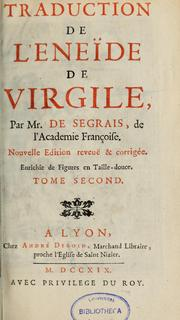Cover of: Traduction de l'Enéide de Virgile