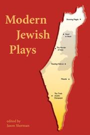 Cover of: Modern Jewish Plays | Jason Sherman