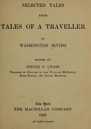 Cover of: Selected tales from Tales of a traveller