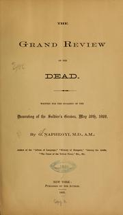 Cover of: The grand review of the dead | G. Naphegyi