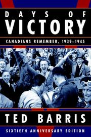Cover of: Days of Victory
