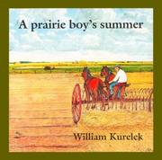 Cover of: A prairie boy's summer