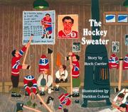 Cover of: The hockey sweater | Roch Carrier
