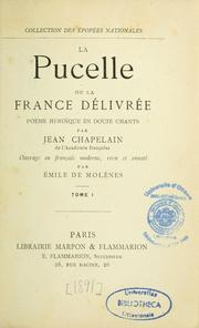 Cover of: La Pucelle, ou, La France délivrée