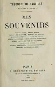 Cover of: Mes souvenirs