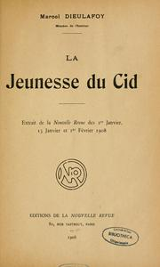 Cover of: La jeunesse du Cid