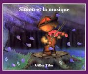 Cover of: Simon et la musique (Simon (French))
