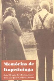 Cover of: Memórias de Itapetininga by