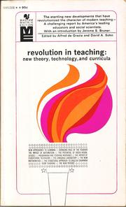 Cover of: Revolution in teaching